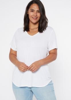 plus white favorite tunic tee - Main Image