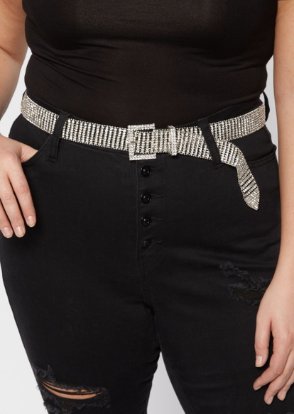 plus gemstone belt - Main Image